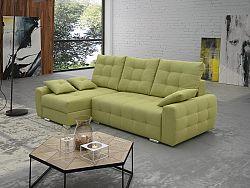 Rohová sedačka Merimas (zelená) (L)