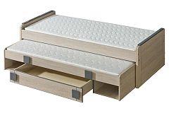 Rozkladacia posteľ 80 cm Gemo G16 (s roštami)