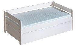 Rozkladacia posteľ 90 cm Balos ( s roštom a úl. priestorom)