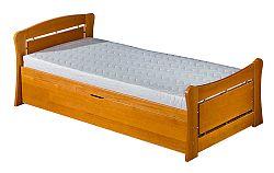 Rozkladacia posteľ 90 cm Pauli 2 (s roštami a úl. priestorom)