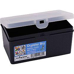 Skladovací box Fastplus Wham 14,5x9,5x7cm (čierna)
