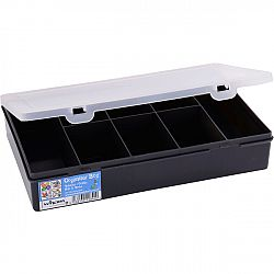 Skladovací box Fastplus Wham 29x19x5,5cm (čierna)