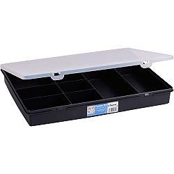 Skladovací box Fastplus Wham 38x30x5cm (čierna)