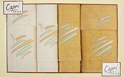 Súprava uterákov Eliza 13 (žltá)