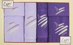 Súprava uterákov Eliza 19 (levanduľová + slivková)
