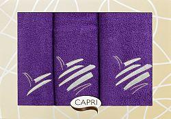 Súprava uterákov Eliza 55 (slivková)