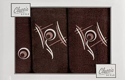 Súprava uterákov Ricky (hnedá)