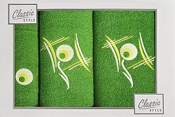 Súprava uterákov Ricky (zelená)