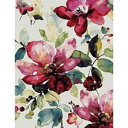 Tkaný Koberec Flower 1