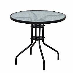 Záhradný stôl Borgen 2 (čierna)