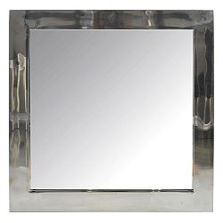 Zrkadlo Na stenu (60x4x60cm) (Strieborná)